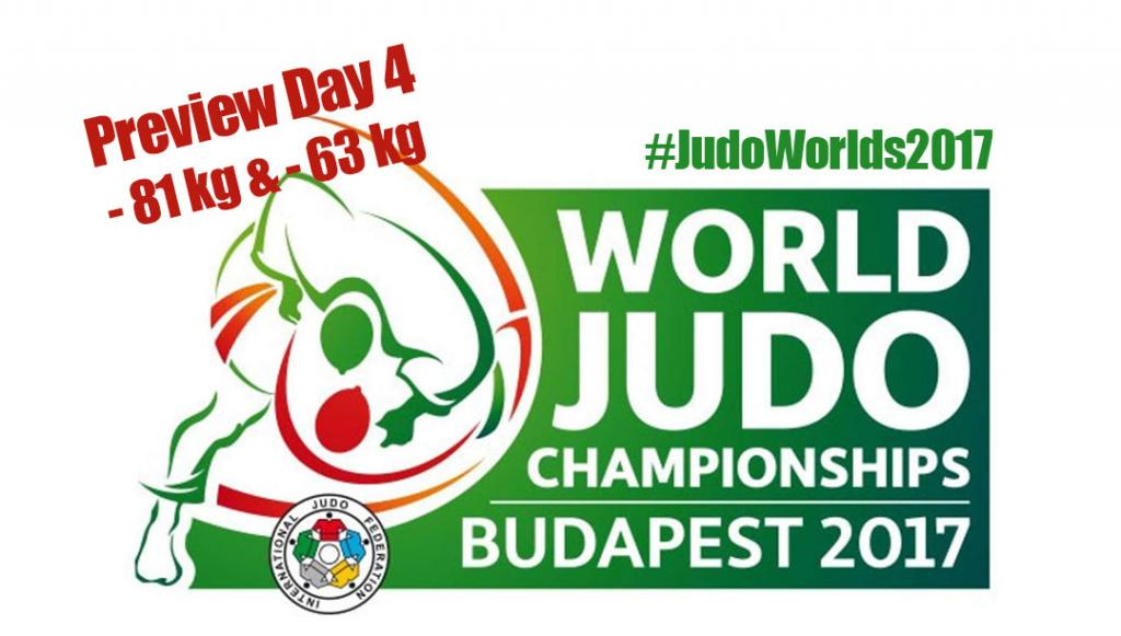 JUDO WORLDS 2017 - PREVIEW DAY 4