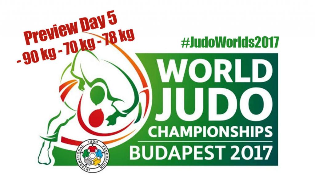 JUDO WORLDS 2017 - PREVIEW DAY 5
