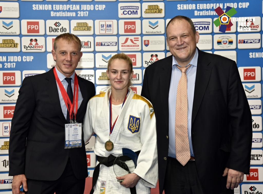 SKORA MAINTAINS WINNING WAYS TO GRAB GOLD IN BRATISLAVA