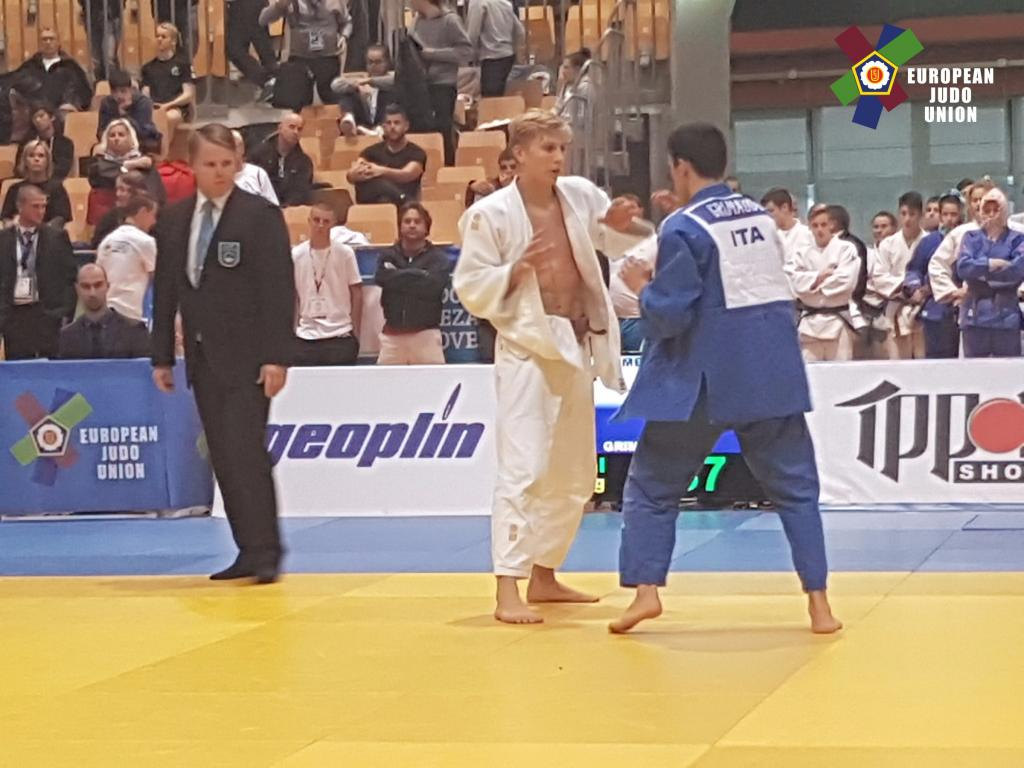 FIRST CADETS ECUP IN KOPER – OZMEC MIHA WON GOLD DESPITE ILLNESS TWO WEEKS PRIOR
