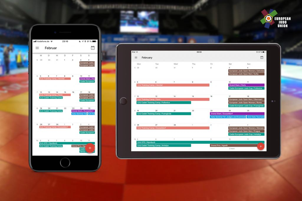 EJU & IJF CALENDAR: DOWNLOADS FOR DESKTOP, MOBILE AND WEB CALENDARS