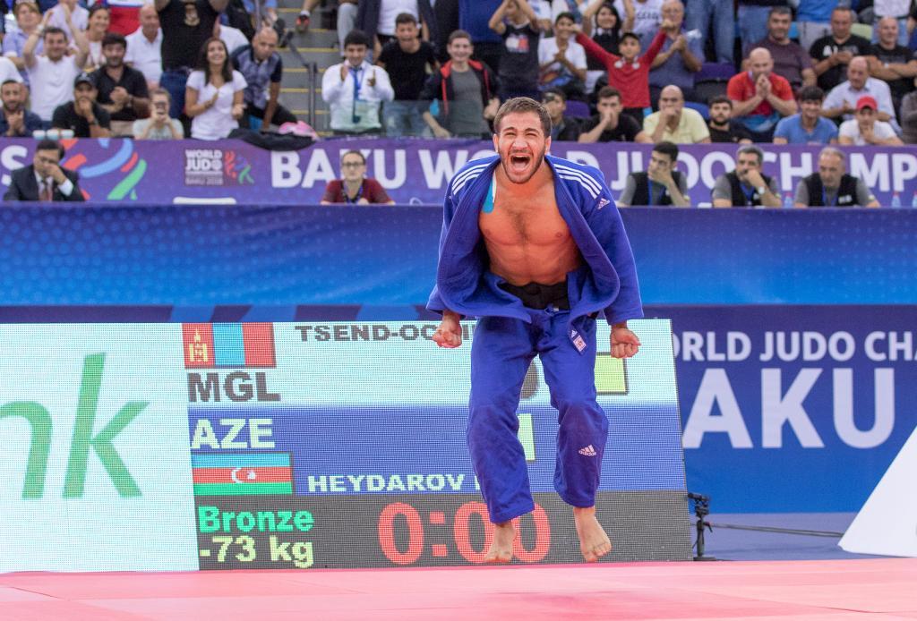 HEYDAROV ENDS ON A HIGH