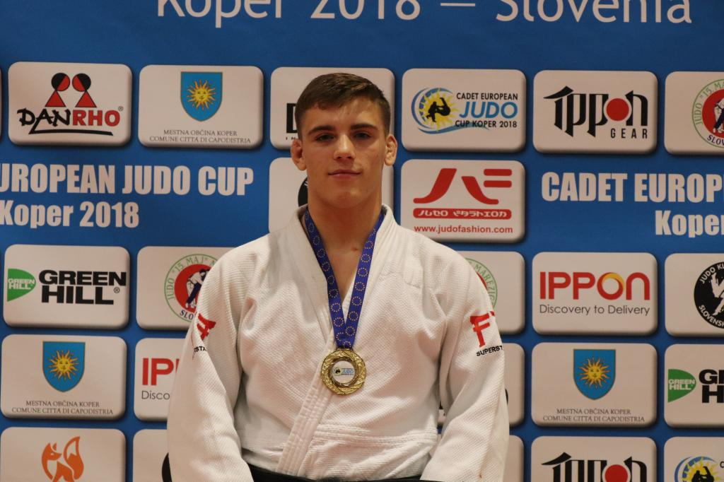 MECILOSEK WINS GOLD IN LESS THAN A FULL CONTEST TIME
