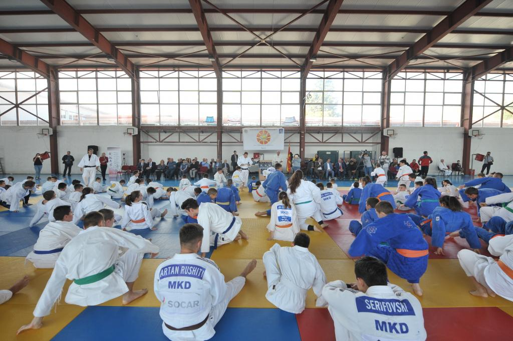 MACEDONIAN COMMUNITY COMES TOGETHER FOR WORLD JUDO DAY