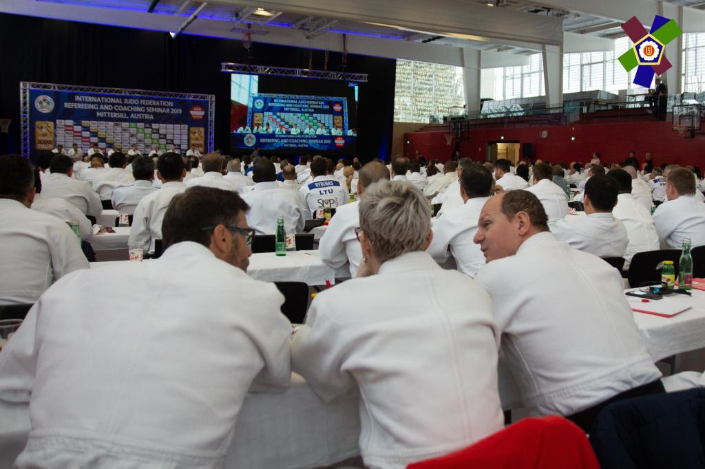IJF REFEREEING AND COACHING SEMINAR 2019