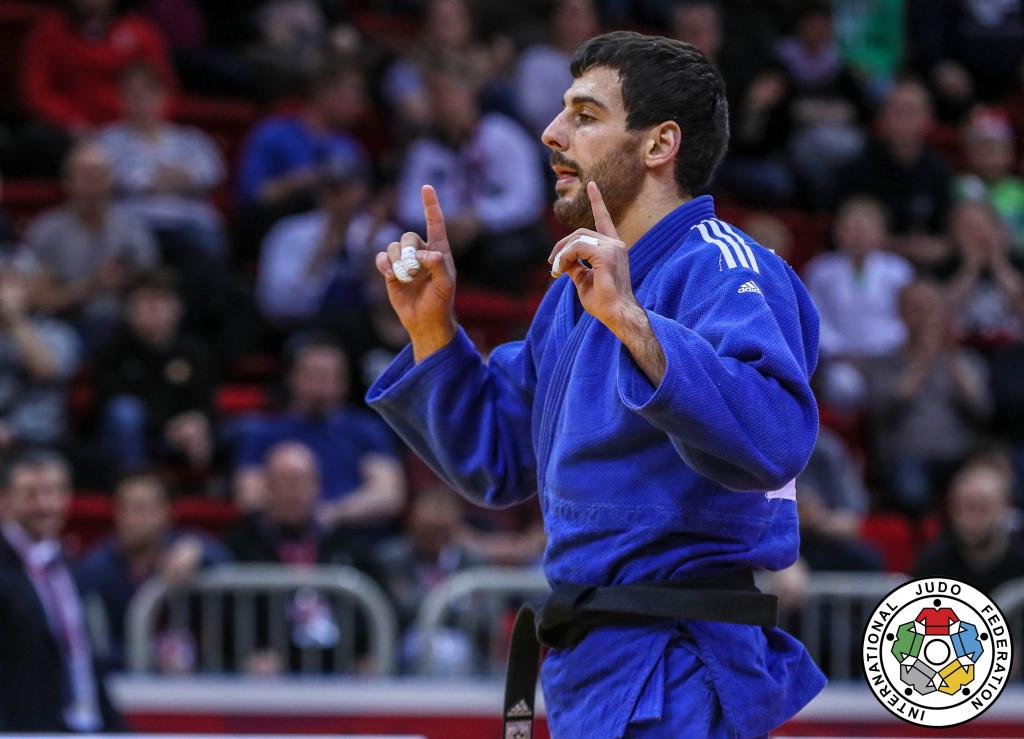 FIRST EVER GRAND SLAM GOLD FOR MEHDIYEV