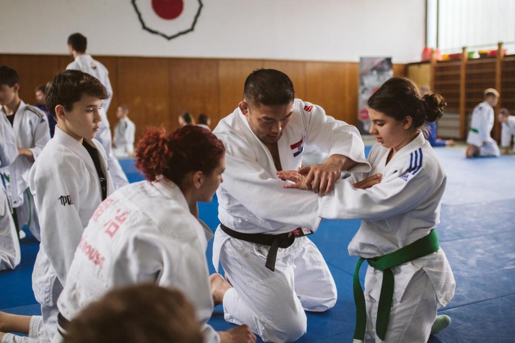 OLYMPIC LEGEND ISHII GIVES BACK TO CROATIAN COMMUNITY