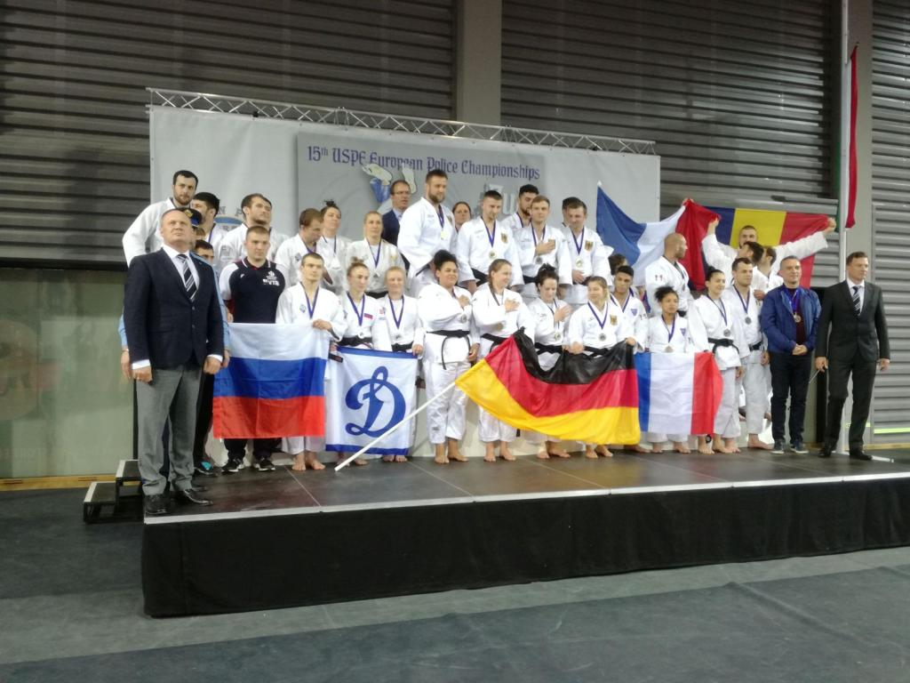 GERMANY OVERPOWER OPPONENTS IN USPE EUROPEAN POLICE CHAMPIONSHIPS