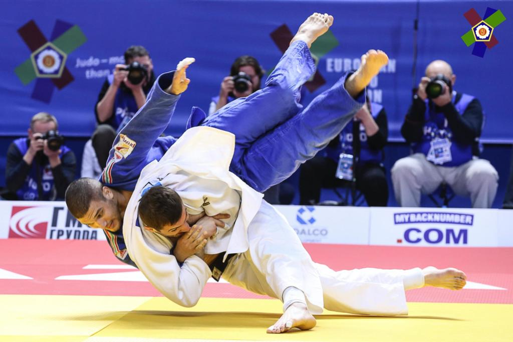 LIPARTELIANI FAVOURITE FOR FIRST EUROPEAN GOLD IN -100KG
