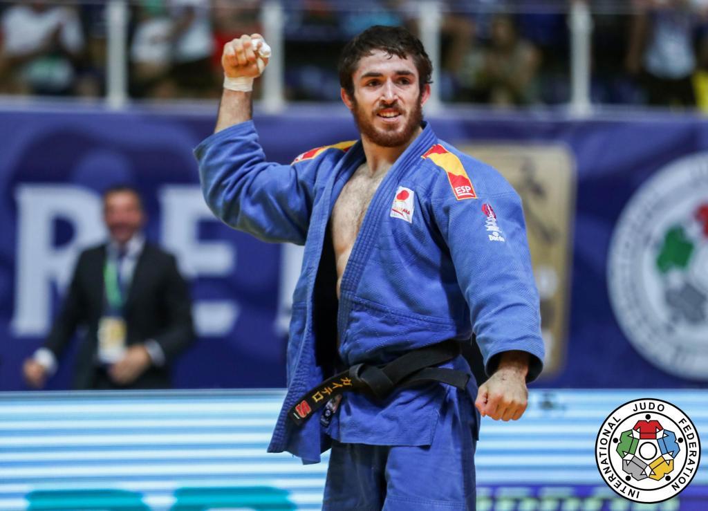 Gaitero Gears Up For Tokyo With Grand Prix Gold In Zagreb European Judo Union