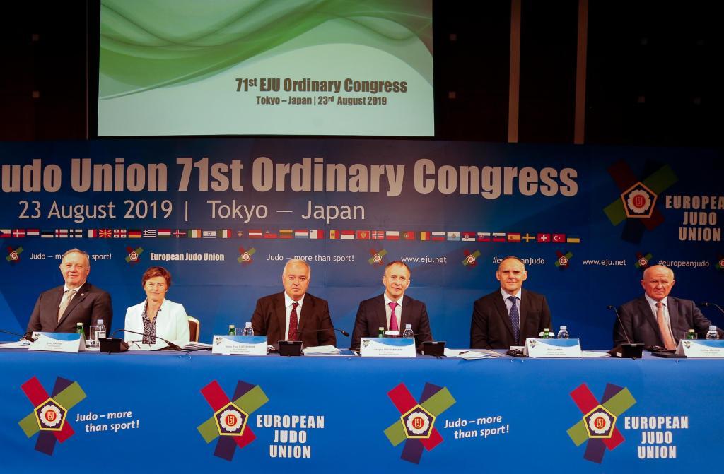 EJU 71ST ORDINARY CONGRESS TOKYO 2019