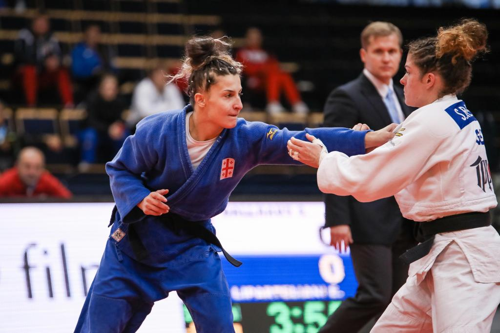ETERI LIPARTELIANI MAKES HISTORY FOR GEORGIAN WOMEN
