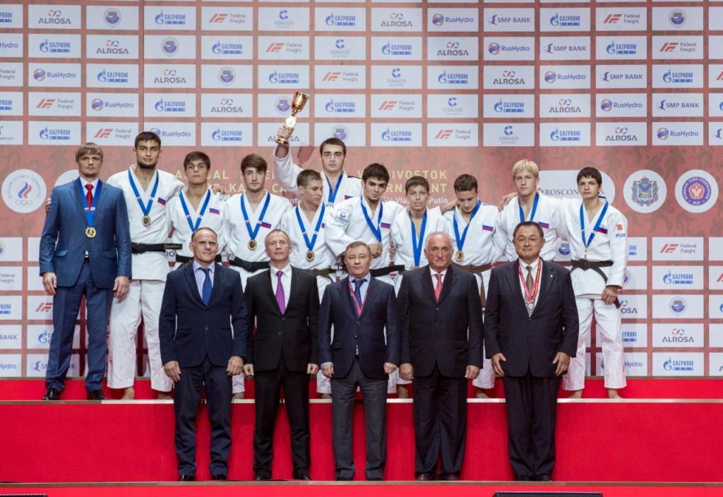 WORLD LEADERS VISIT JIGORO KANO CADET TOURNAMENT IN VLADIVOSTOK