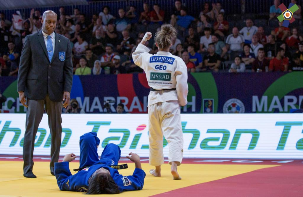 LIPARTELIANI CONTINUES TO MAKE HISTORY WITH JUNIOR WORLD GOLD
