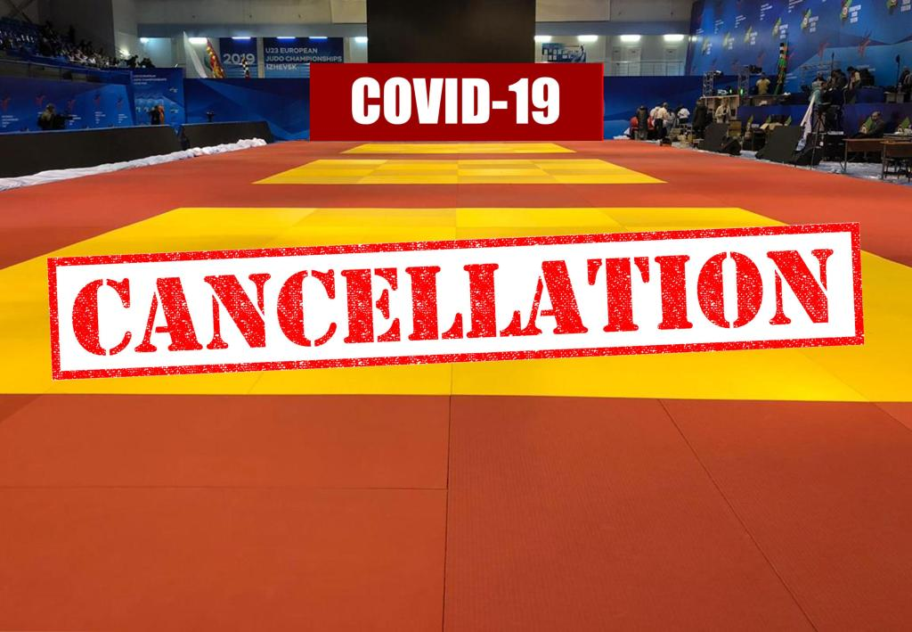 ALL EJU & IJF EVENTS CANCELLED UNTIL END OF APRIL