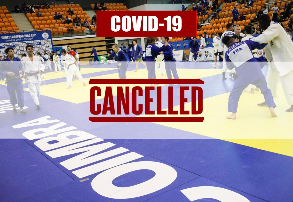 JUNIOR CUP IN COIMBRA CANCELLED