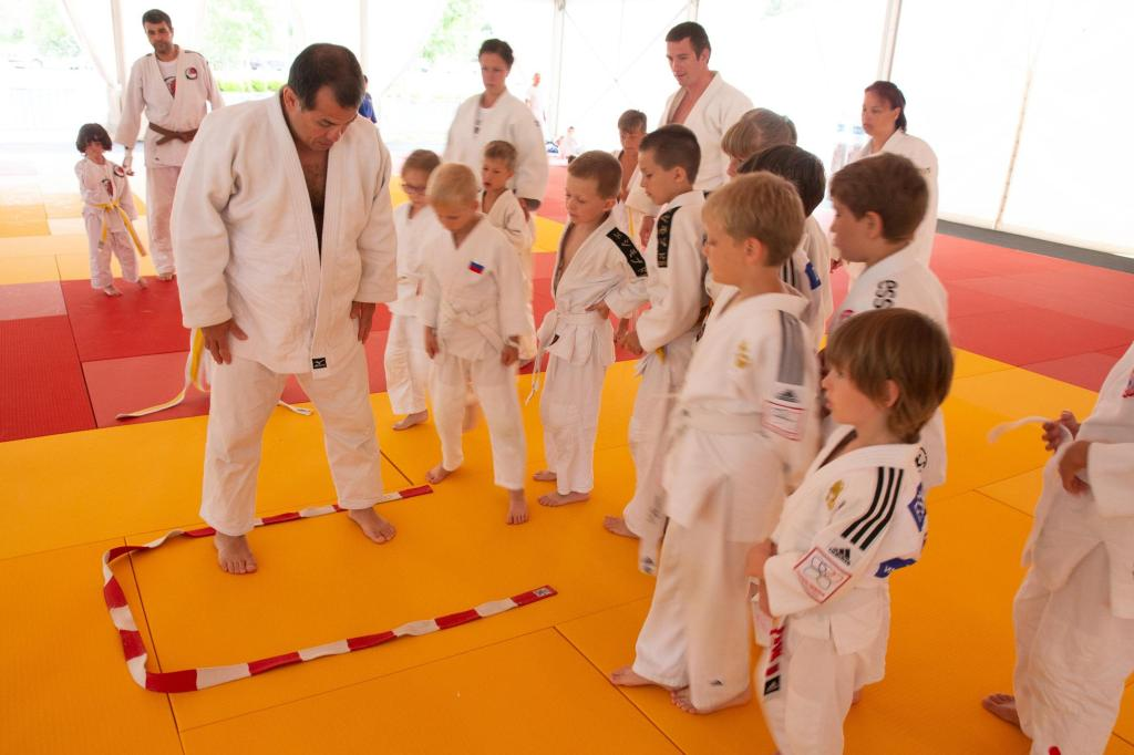 JUDO FESTIVAL KIDS TIMETABLE WITH SERGIO OLIVEIRA