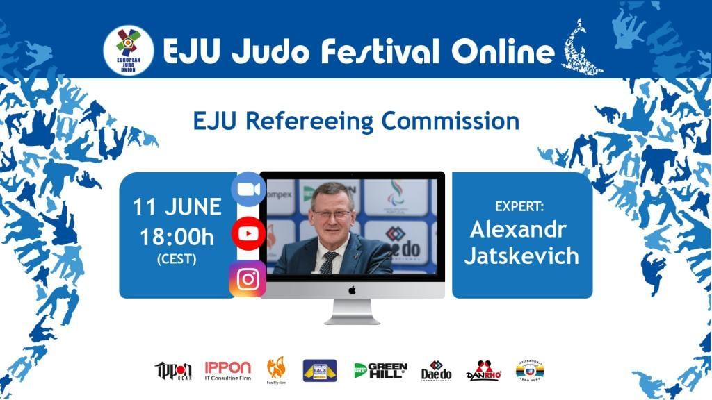 EJU REFEREEING DIRECTOR ALEXANDR JATSKEVICH GOES LIVE
