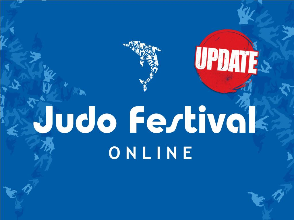 SUCCESSFUL ONLINE JUDO FESTIVAL IN FULL SWING