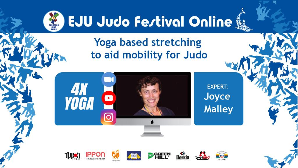 JUDO FESTIVAL YOGA WITH JOYCE MALLEY