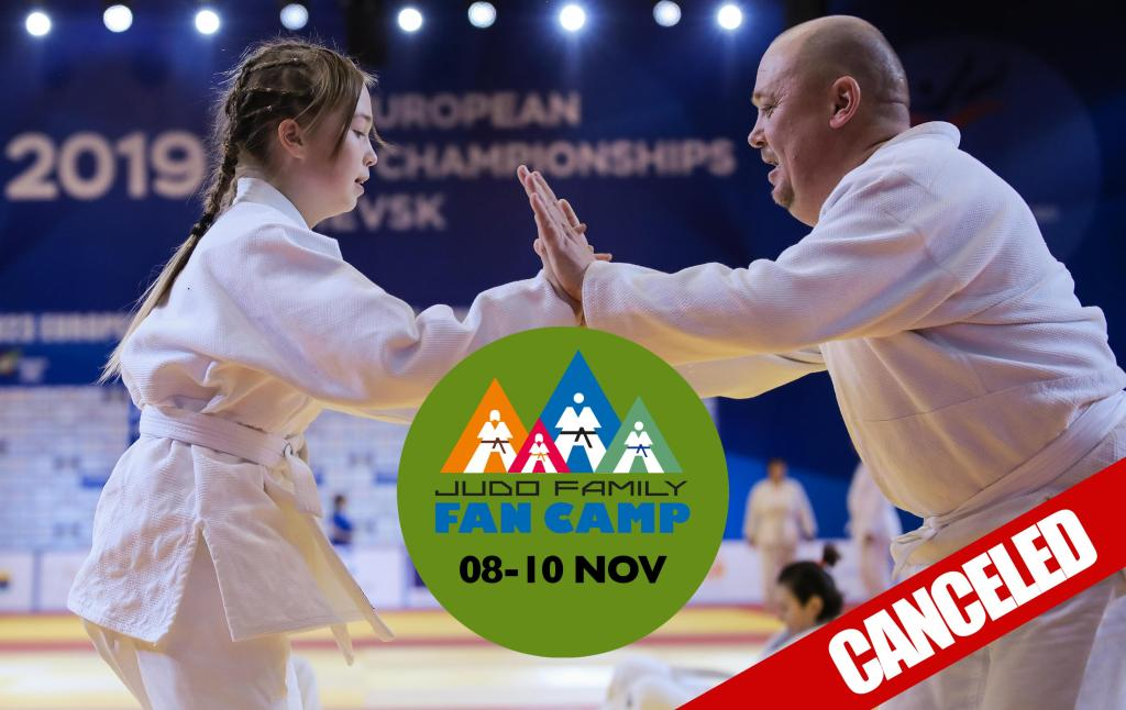 JUDO FAMILY FAN CAMP PRAGUE: CANCELLED