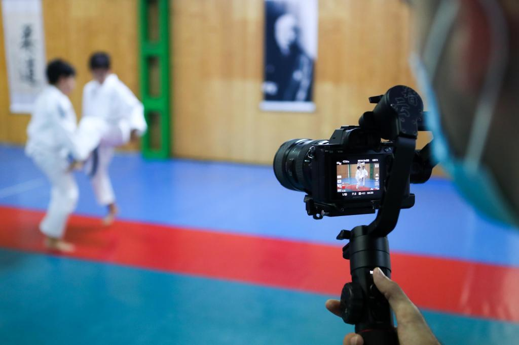 FILMING FOR JUDO SCHOOL LEAGUE COMMENCES IN CADIZ