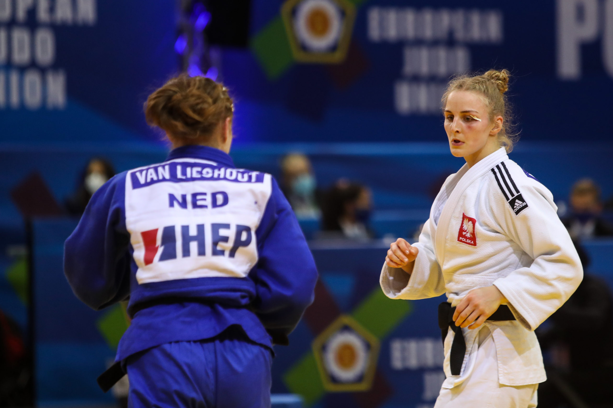 YOUNGEST ENTRY VAN LIESHOUT TAKES GOLD FOR NETHERLANDS
