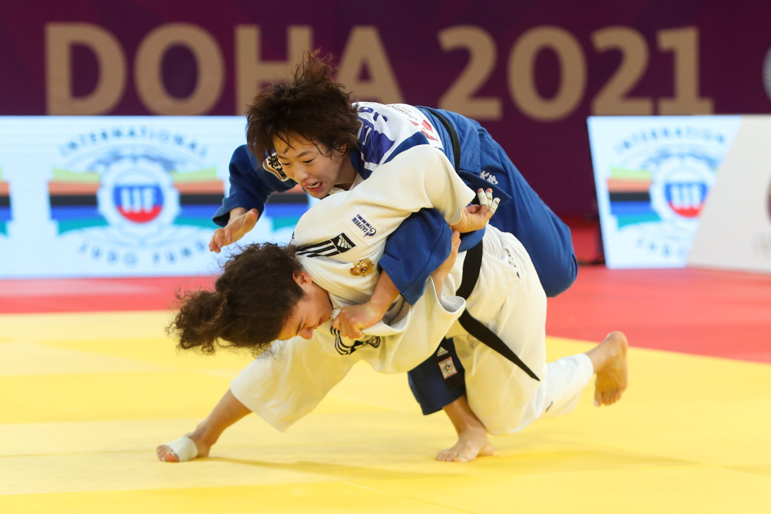 TAIMAZOVA STEALS THE SHOW FOR EUROPE AT -70KG