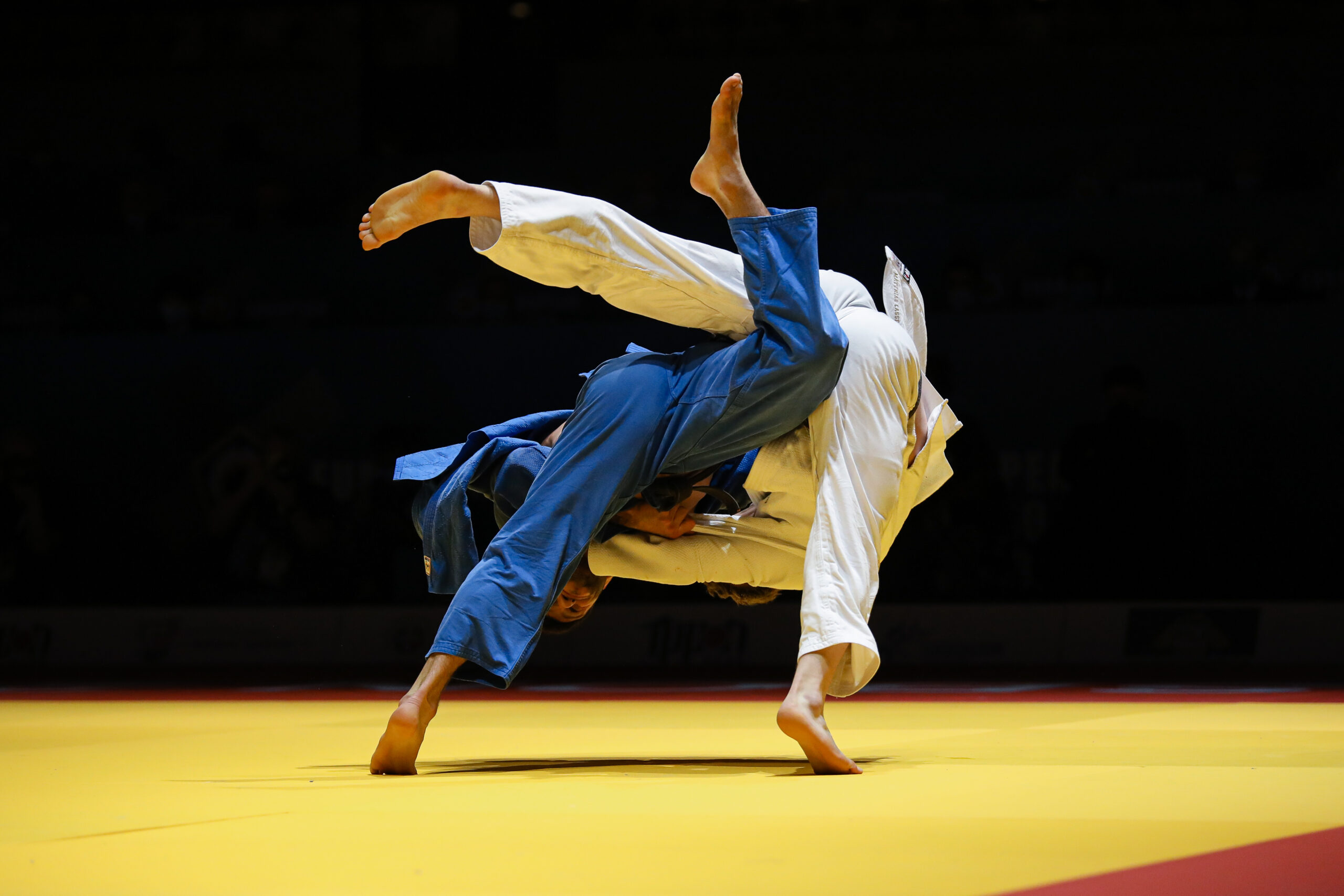 DAY TWO SETTLED FOR NOTHING BUT SENSATIONAL JUDO