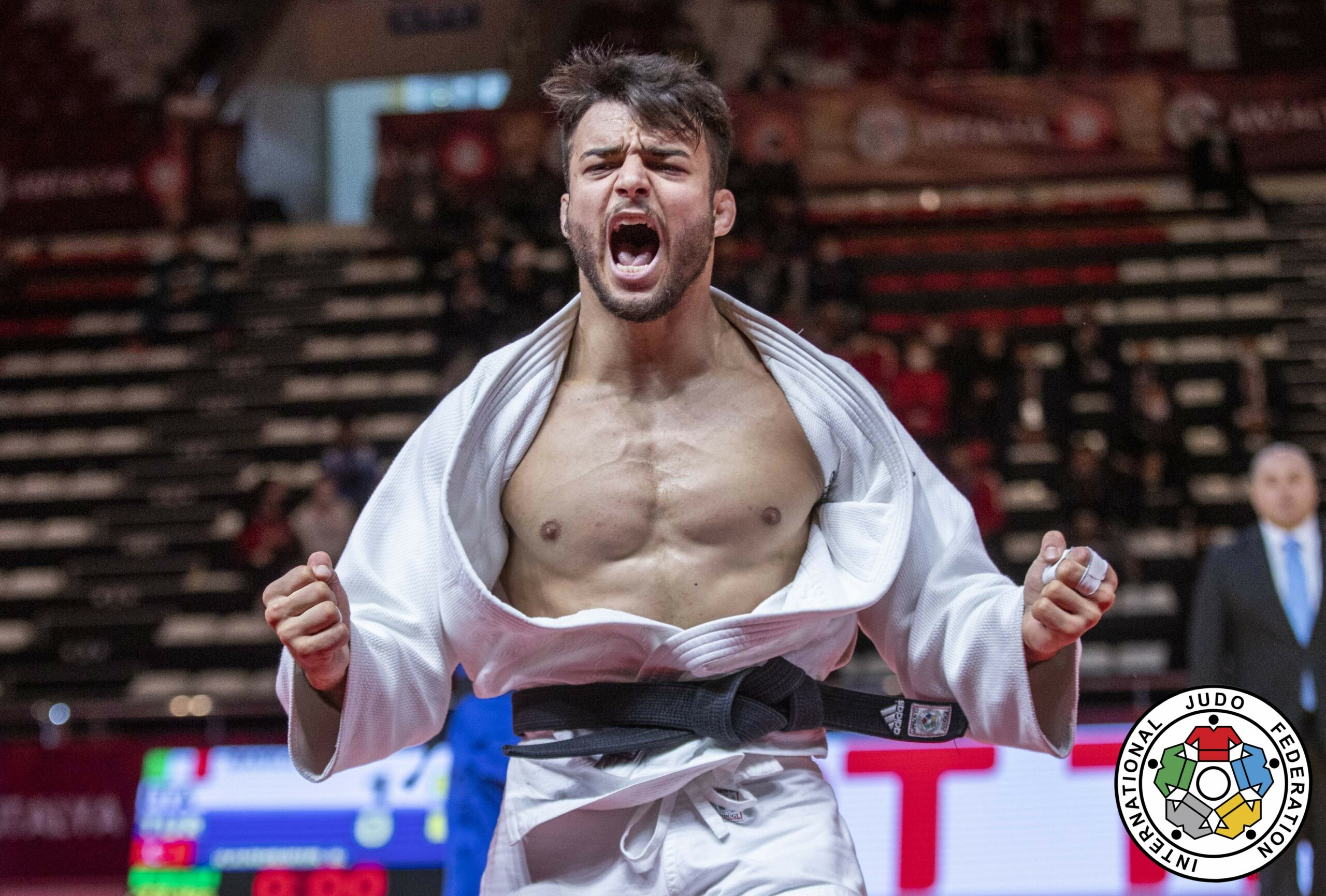 BASILE ENDS SIX YEAR QUEST WITH GRAND SLAM GOLD IN ANTALYA