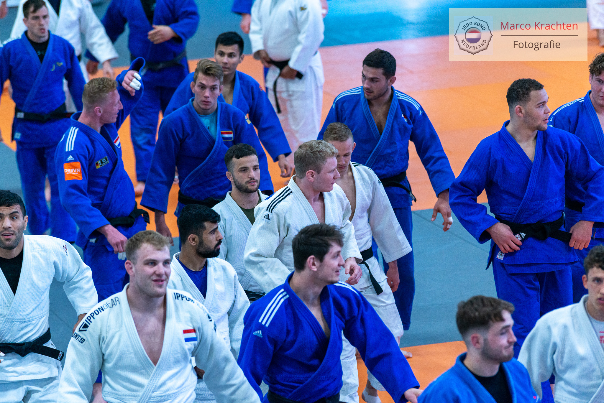 PAPENDAL HOSTS WORLD AND EUROPEAN CHAMPIONS IN TRAINING CAMP